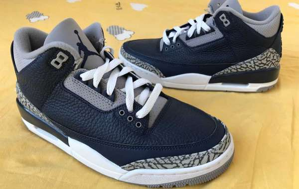 """Latest Release Air Jordan 3 """"Midnight Navy"""" Basketball Shoes CT8532-401"""