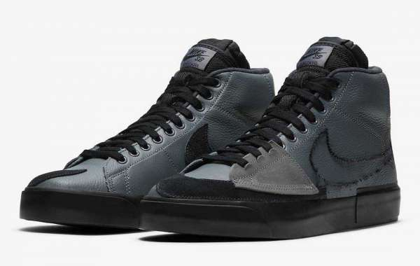 DA2189-001 Nike SB Blazer Mid Edge Releasing in Black and Grey Soon