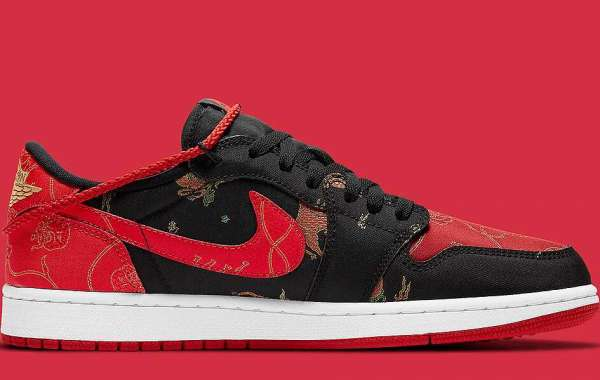 """Latest Air Jordan 1 Low OG """"Chinese New Year"""" Outlet Sale DD2233-001"""
