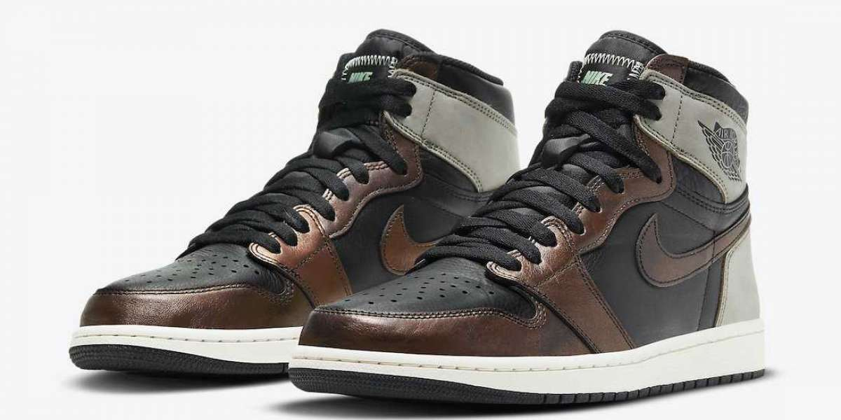"""555088-033 Air Jordan 1 High """"Light Army"""" Expecting  Release March 13th"""