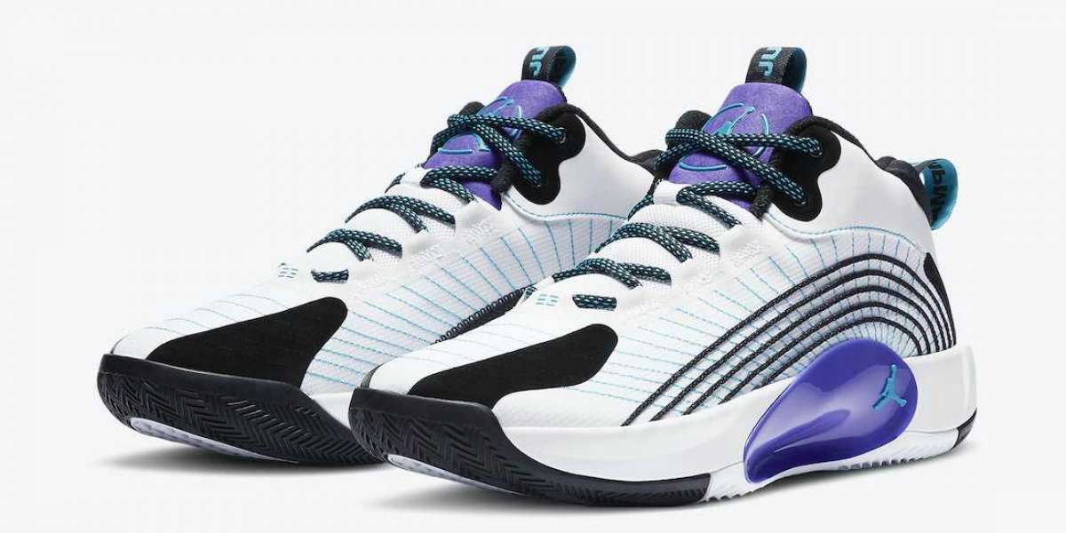 "High Quality Jordan Jumpman 2021 PF ""Grape"" CQ4229-101"