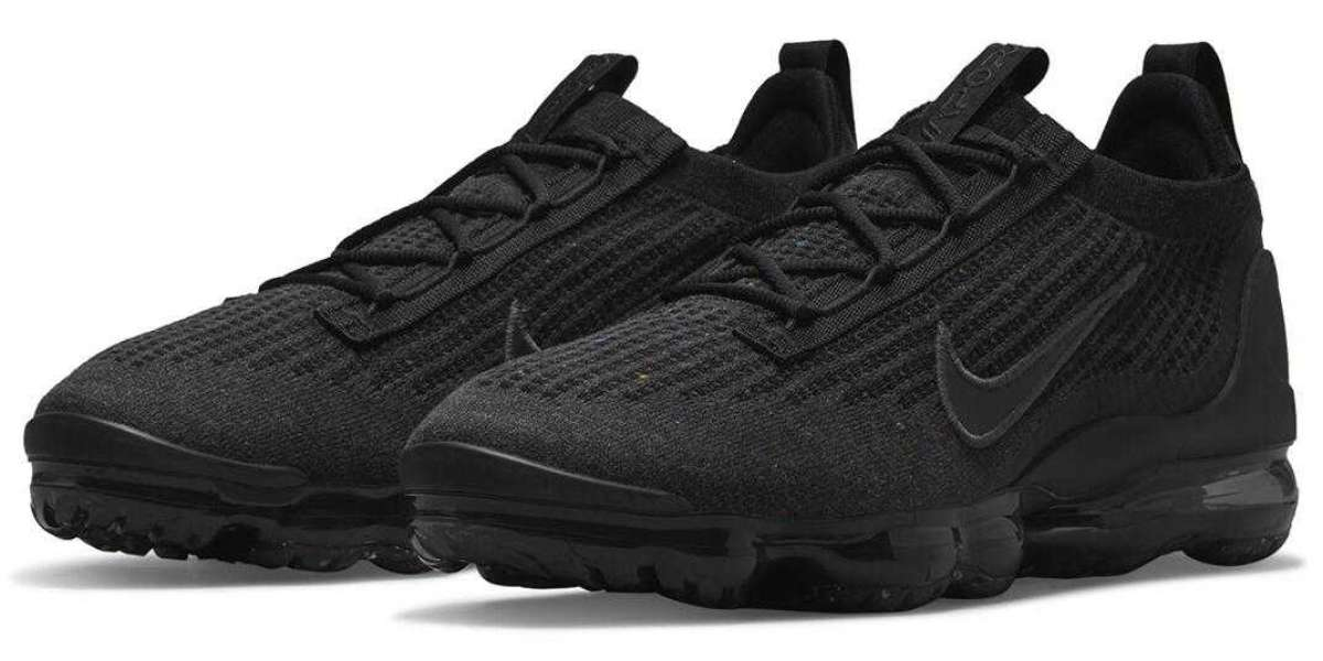 The Nike Vapormax Flyknit 2021 Triple Black Kicks Off The 2021