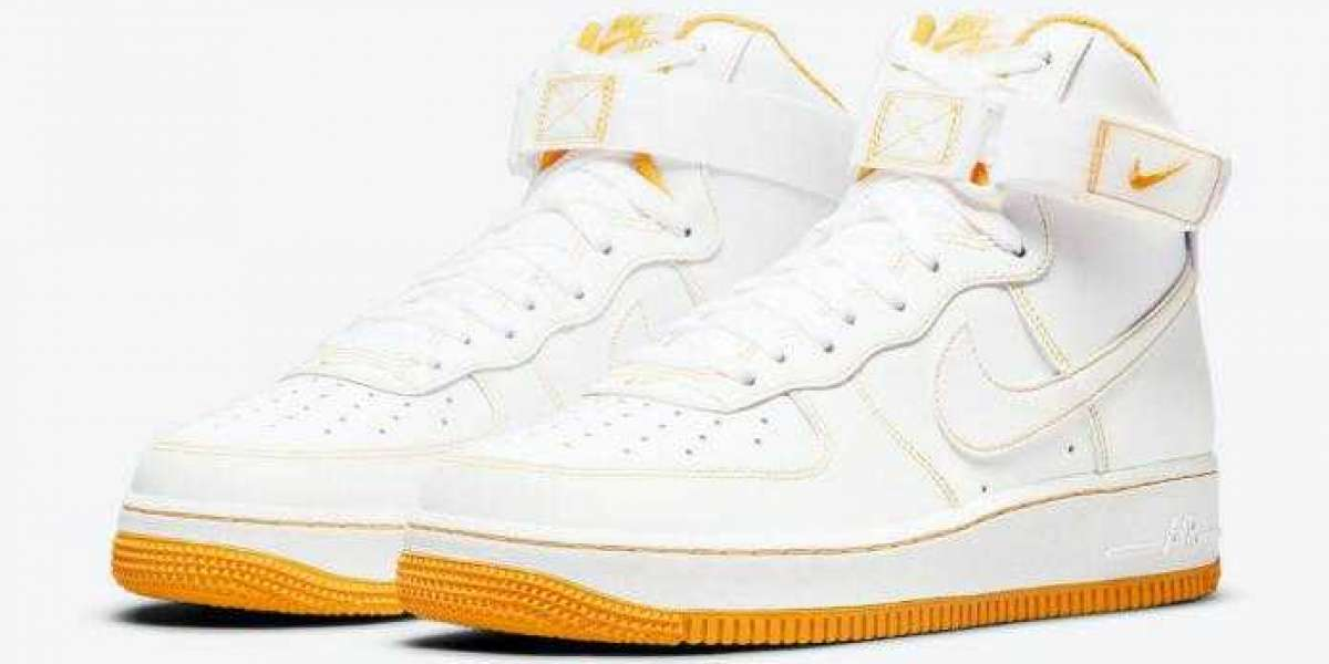 Nike Air Force 1 High Laser Orange Come Ready for 2021 Spring