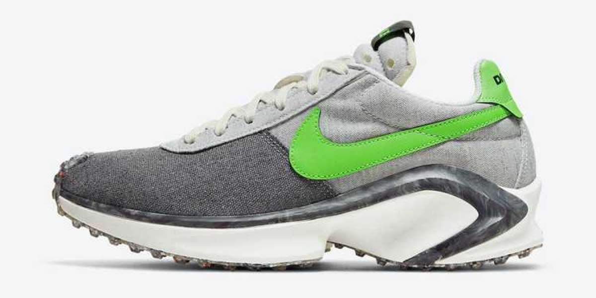 "Nike D/MS/X Waffle ""Mean Green"" 2021 New Arrival CW6914-001"
