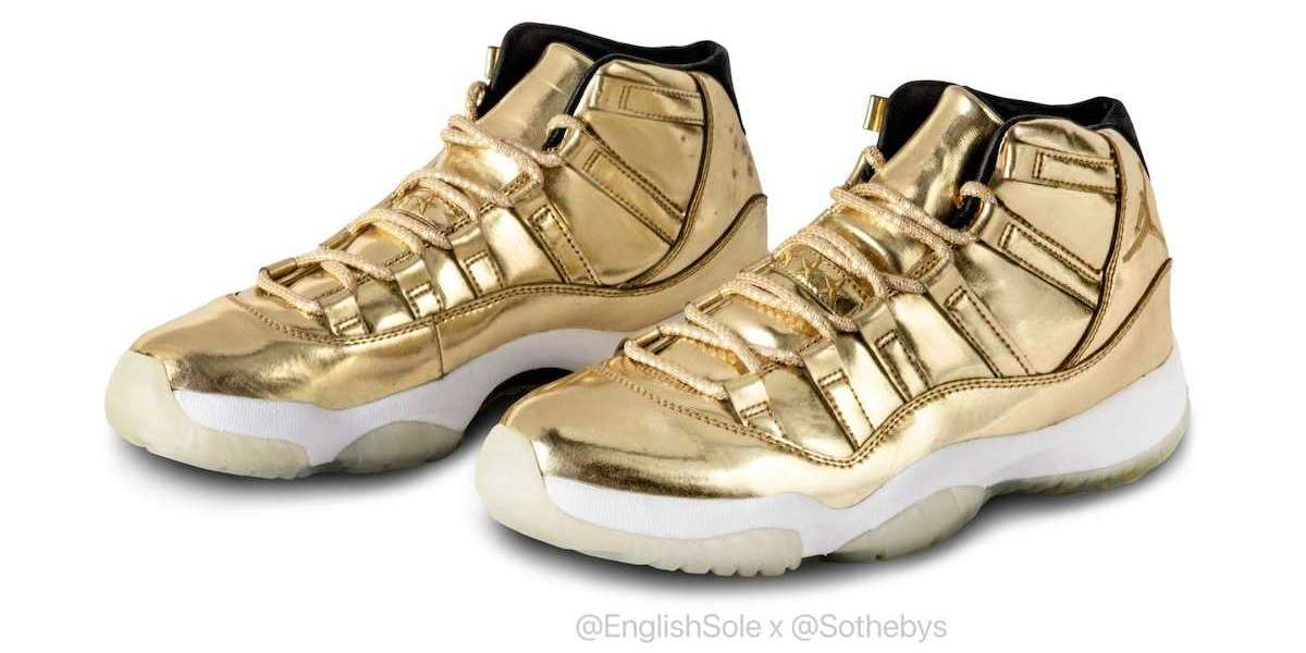 "Where To Buy the Latest Air Jordan 11 ""Metallic Gold"" shoes?"
