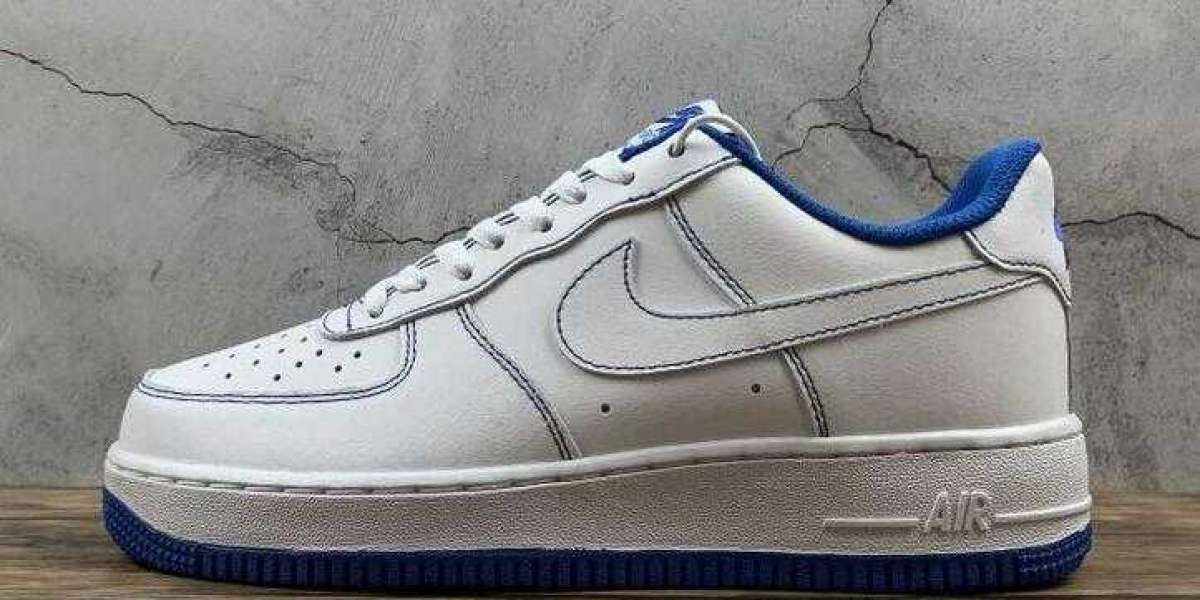 Where to Buy New Nike Air Force 1 07 White Game Royal