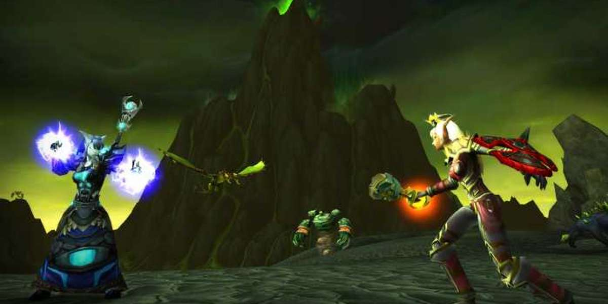 Explanation of those transitions in World of Warcraft: The Burning Crusade Classic